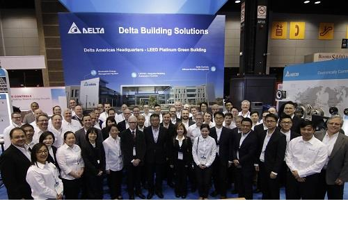 Delta Presents Comprehensive Portfolio of Energy-Saving Building Automation and HVAC Solutions at AHR 2018